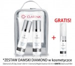 CLARENA Zestaw Damski Diamond  w kosmetyczce Diamond lift Day Cream + Diamond Night Essence  + Diamond Filler