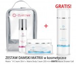 CLAREA Zestaw Damski Matrix w kosmetyczce Matrix 14 Cream + Matrix Body Cream + Matrix Shower Gel